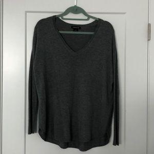 Trouve Grey Sweater